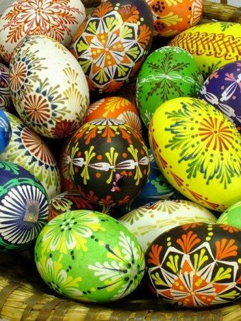 идеи росписи яиц к пасхе
